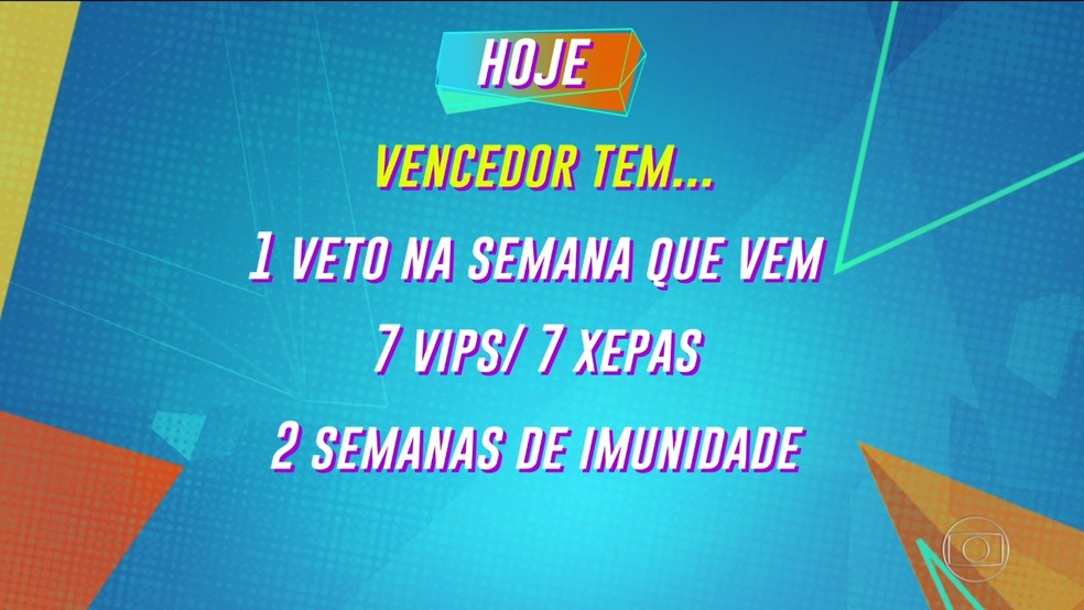 Tiago explica a dinâmica da sexta semana — Foto: Globo