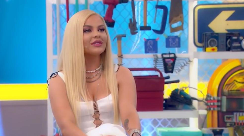 Luísa Sonza no 'Casa Kalimann' — Foto: Reprodução/Globoplay