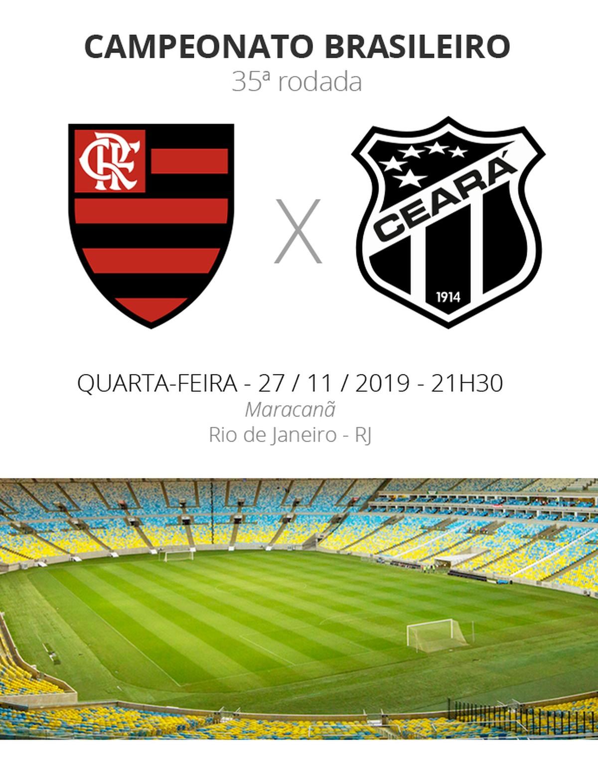 Flamengo X Ceara Veja Onde Assistir Escalacoes Desfalques E Arbitragem Brasileirao Serie A Ge