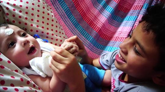 Conheça a luta que uma família com bebê cardiopata enfrenta