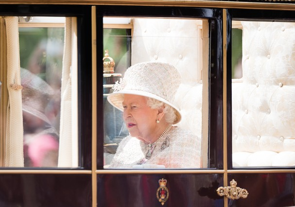 Rainha no Trooping the Colour 2019 (Foto: Getty Images)