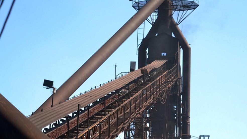 Material foi destruído em forno de usina em Mato Grosso do Sul (Foto: CMO/Divulgação)