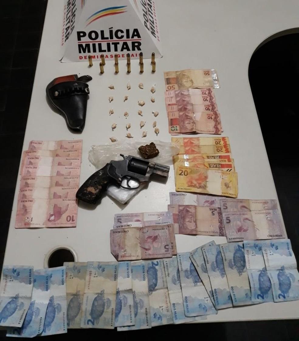 -  Materiais apreendidos em operação em São João del Rei  Foto: Polícia Militar/Divulgação