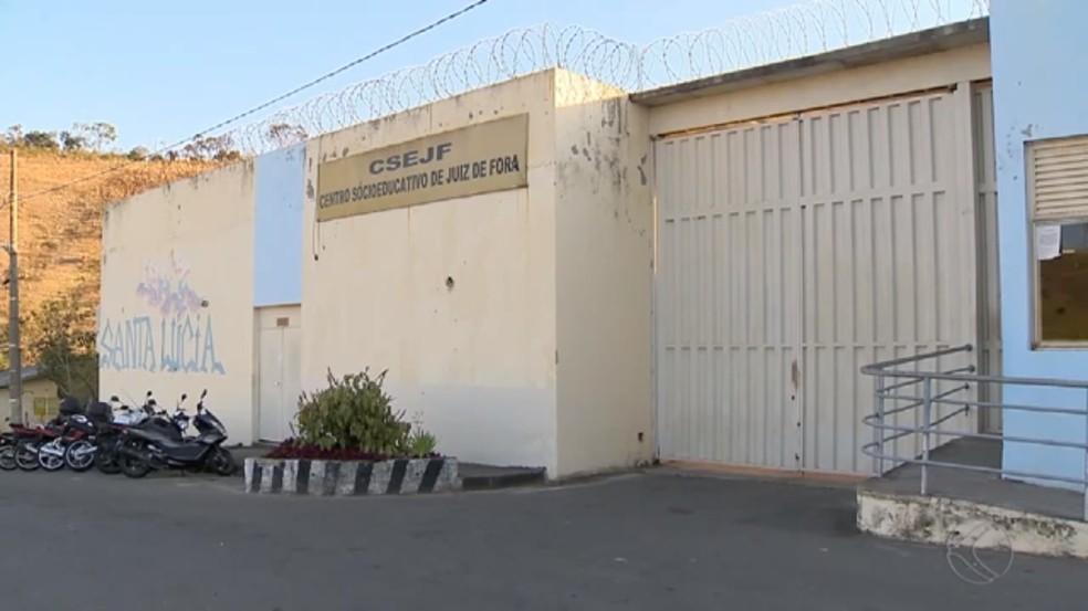 MPMG pediu melhorias no Centro Socioeducativo de Juiz de Fora (Foto: Reprodução/TV Integração)