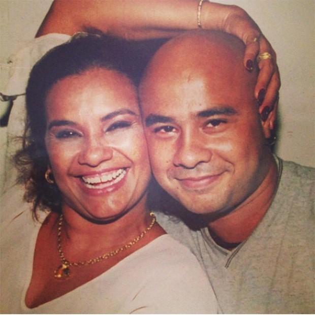 Solange Couto e o filho, Marcio (Foto: Reprodução / Instagram)
