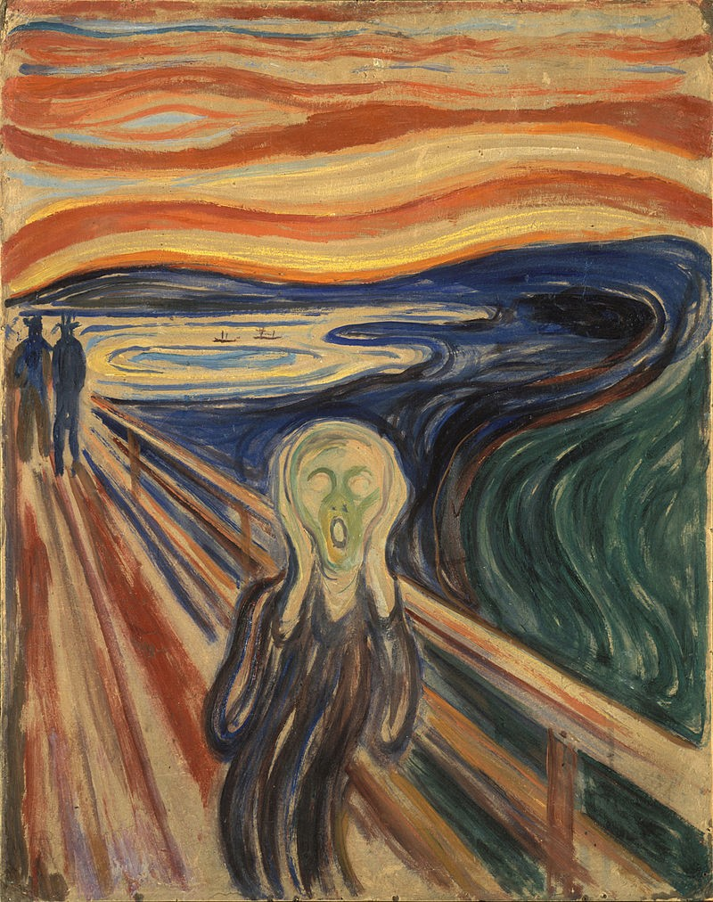 "Obra ""O Grito"", de Edward Munch (Foto: Wikimedia Commons)"