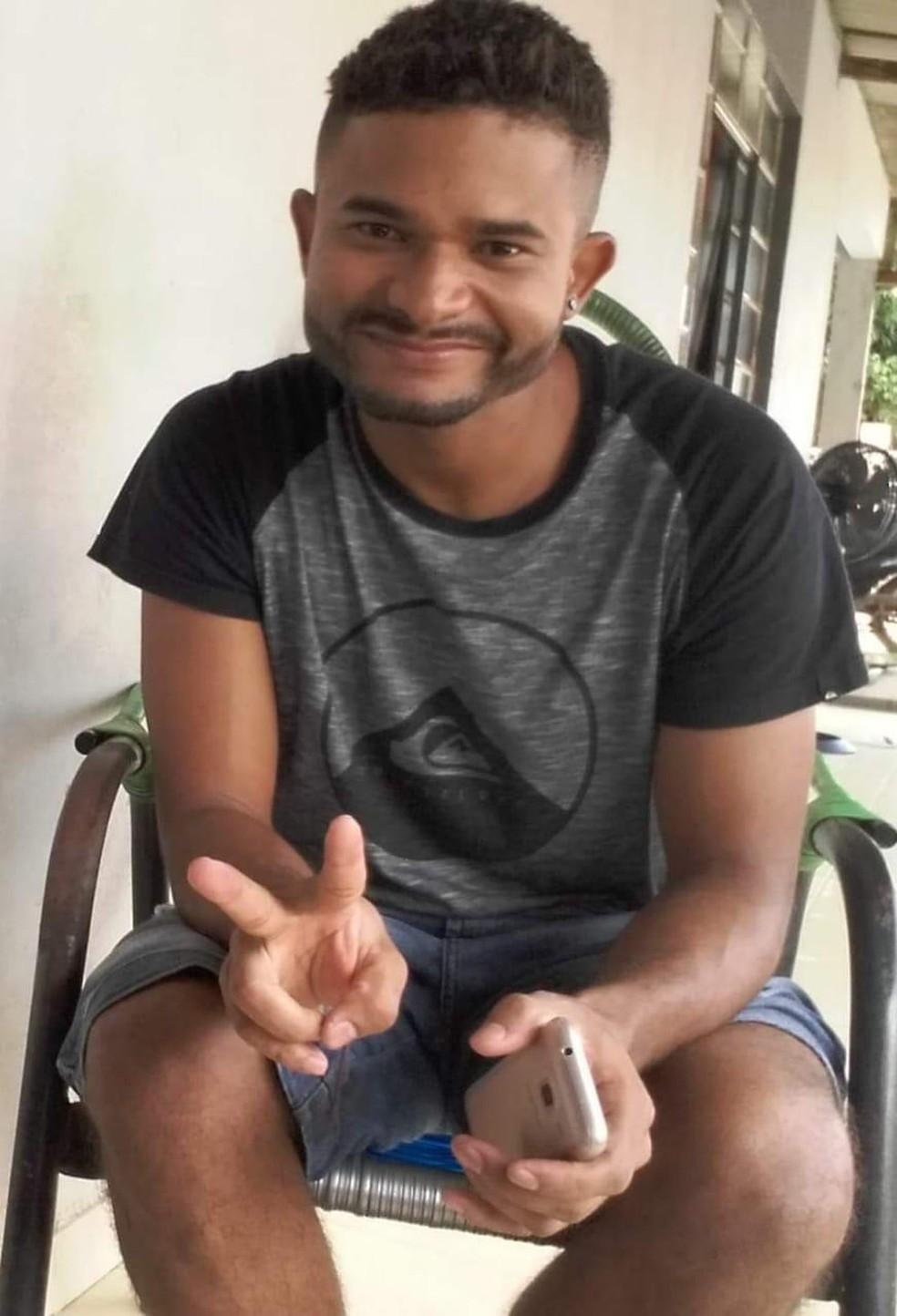 Lumar Lopes, de 28 anos, confessou o crime à família em Sorriso — Foto: Arquivo pessoal