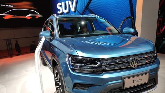 Volkswagen Tarek aparece na China; SUV será feito na Argentina para o Brasil