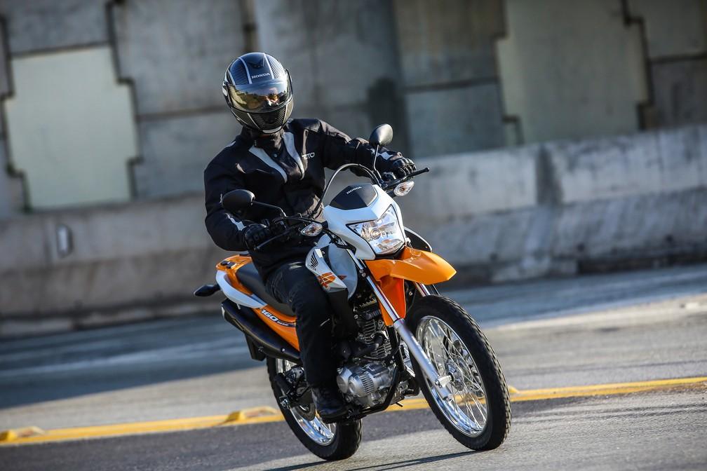 Honda NXR 160 — Foto: Divulgação