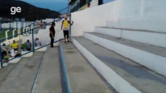 Vídeo com torcida do Fla de Arcoverde recolhendo lixo chama atenção em partida do PE