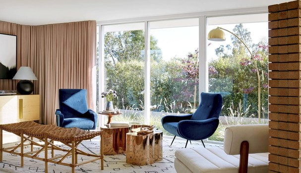 Casa de Mandy Moore (Foto: Architectural Digest)