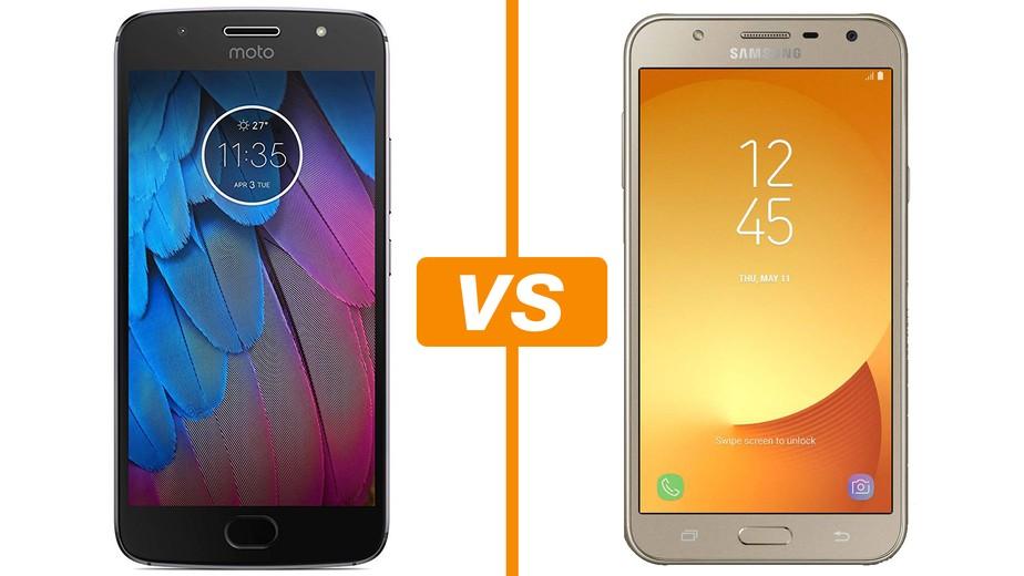 94b934cd8 ... Moto G5S vs Galaxy J7 Neo  compare celulares com preços abaixo de R  1