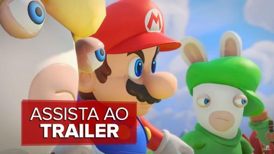 'Mario + Rabbids Kingdom Battle' e 'Beyond Good & Evil 2' são novidades da Ubisoft na E3 2017