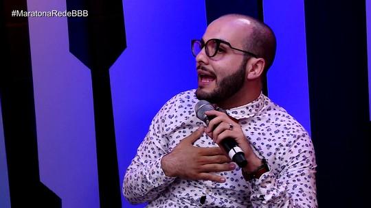 Maratona Rede BBB! Mahmoud sobre 'treta' com Jaqueline: 'Foi a briga que mais me magoou'
