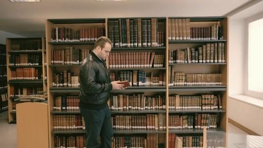 Henrique está fazendo doutorado na Universidade de Lisboa