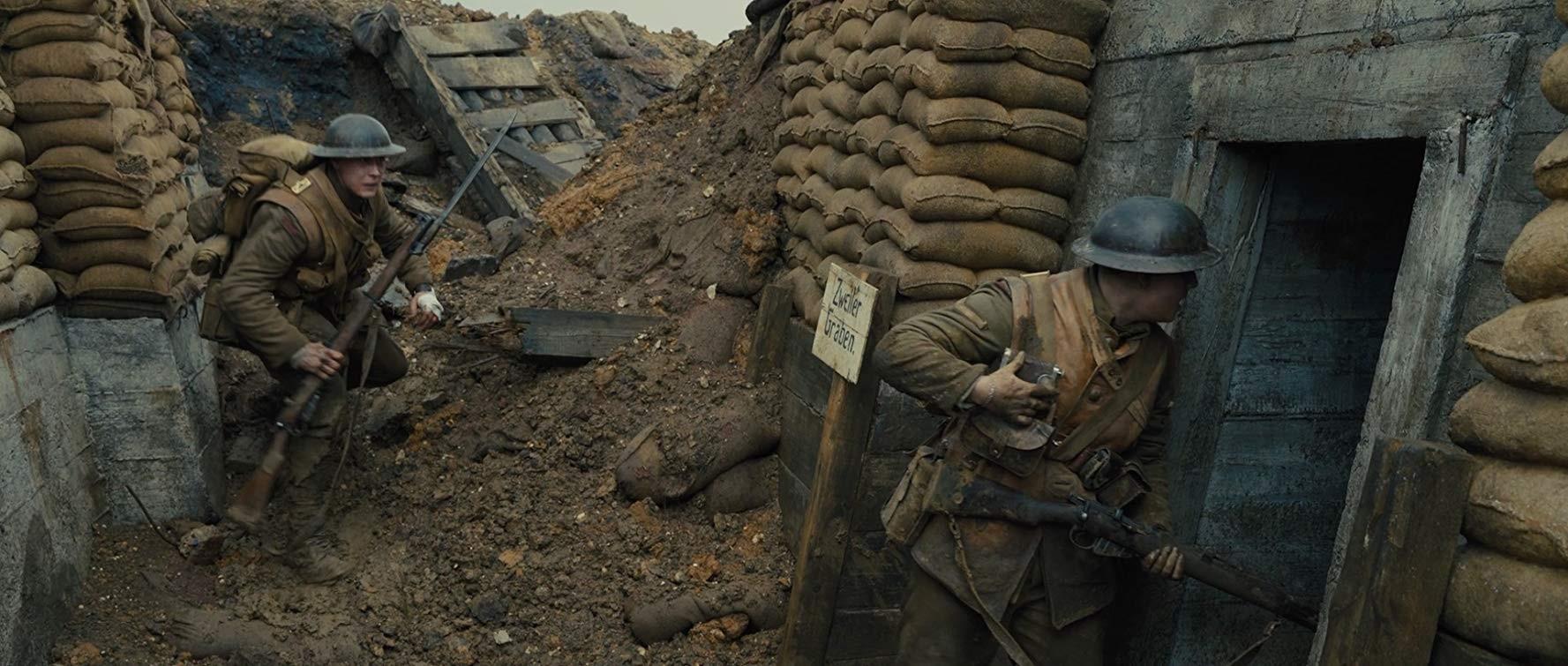 Filme '1917', com 10 indicações ao Oscar, estreia nos cinemas da PB