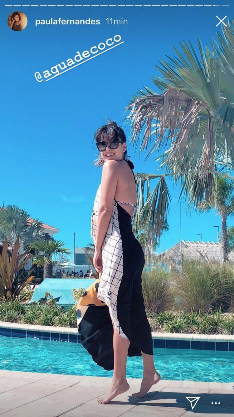 Paula Fernandes curte férias nos Estados Unidos (Foto: Reprodução/Instagram)