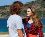 Rafael Vitti e Isabelle Drummond em cena de 'Verão 90' | Reprodução