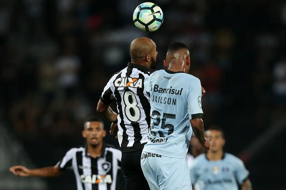 Jailson aprovou em prova de fogo contra o Botafogo  (Foto: Vitor Silva/SSPress/Botafogo)
