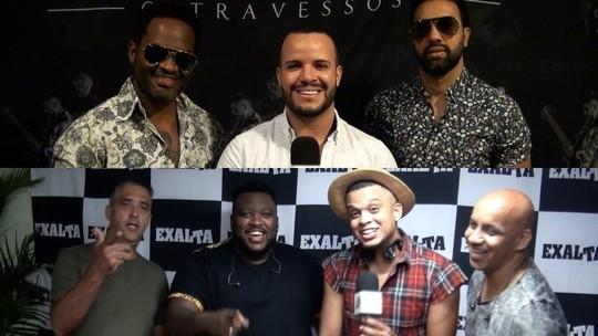 Os Travessos e Exaltasamba falam sobre música e Nordeste
