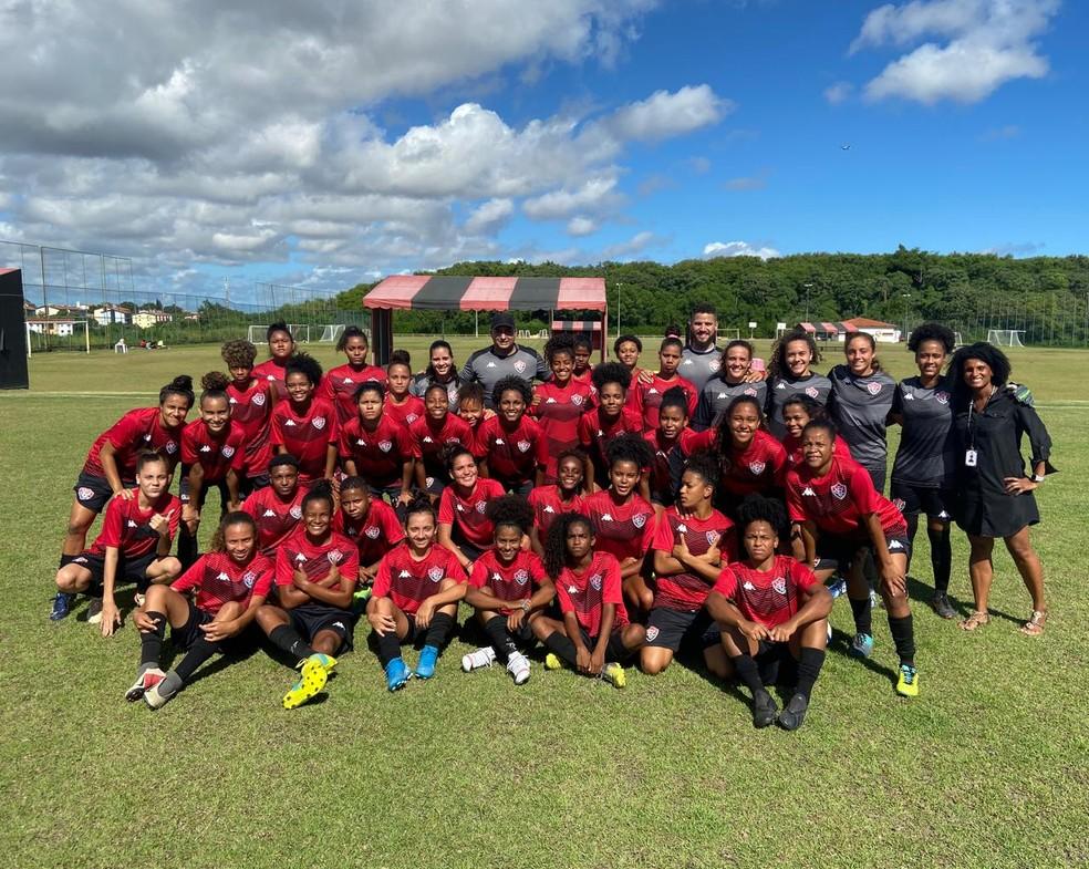 O Vitória aposta na base para a temporada de 2020 — Foto: Assessoria Vitória