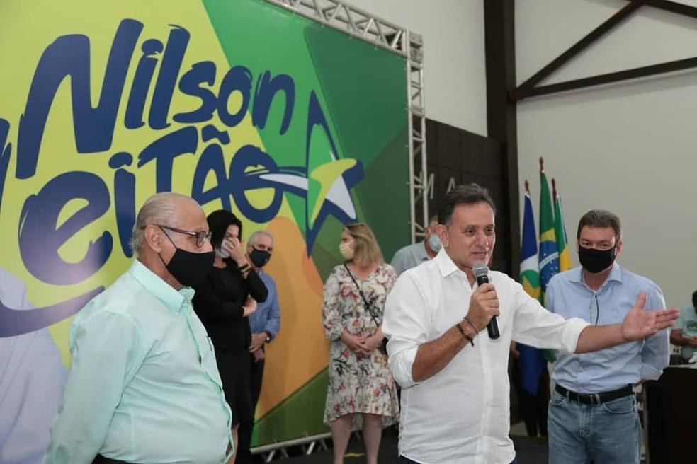 Nilson Leitão é candidato ao Senado pelo PSDB — Foto: Reprodução