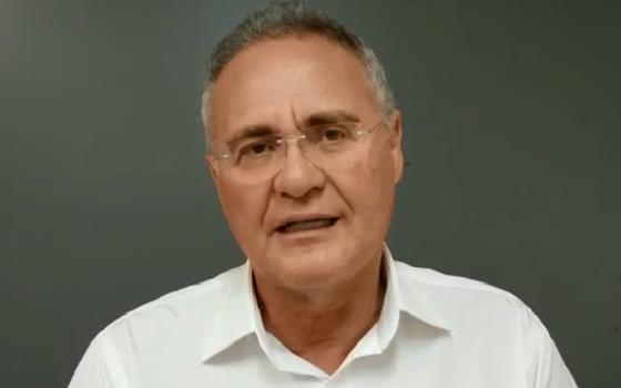 Renan Calheiros, senador do MDB de Alagoas (Foto: Reprodução)