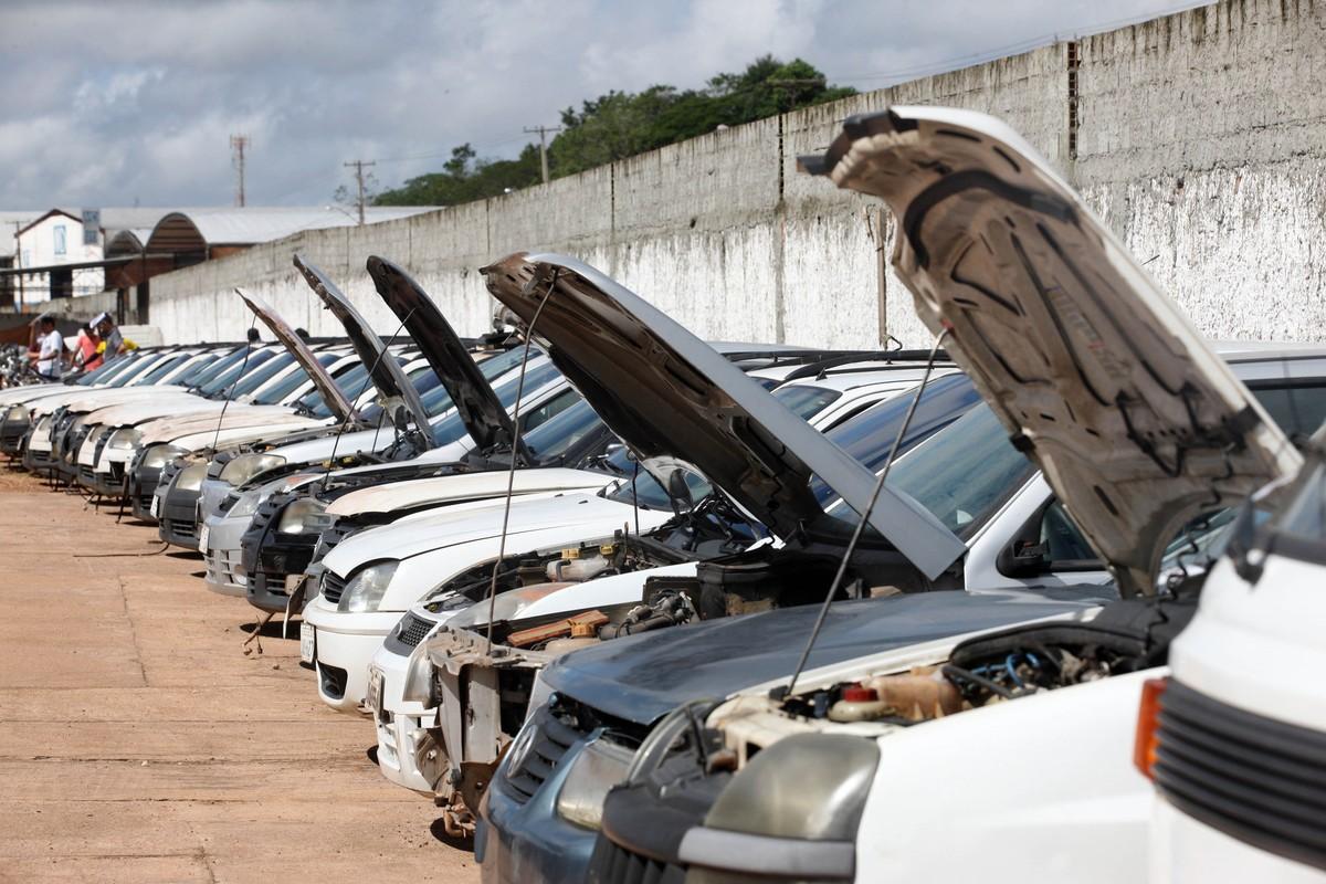 Detran-SP faz leilão de 520 veículos apreendidos em Campinas nesta terça-feira