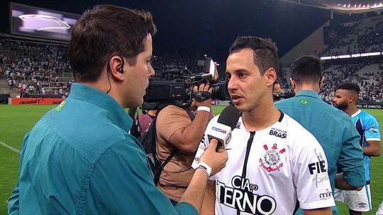 """Criticado no Corinthians, Rodriguinho diz: """"É difícil falar que estou devendo"""""""
