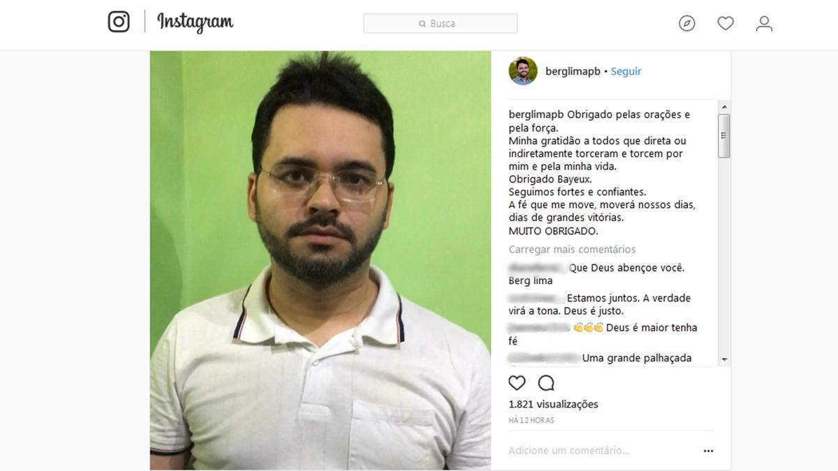 'Se Deus quiser vai dar certo', diz prefeito afastado após deixar prisão por suposta propina na PB