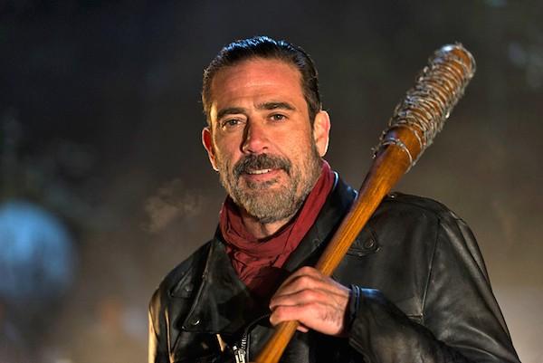 Jeffrey Dean Morgan em cena de The Walking Dead (Foto: Reprodução)