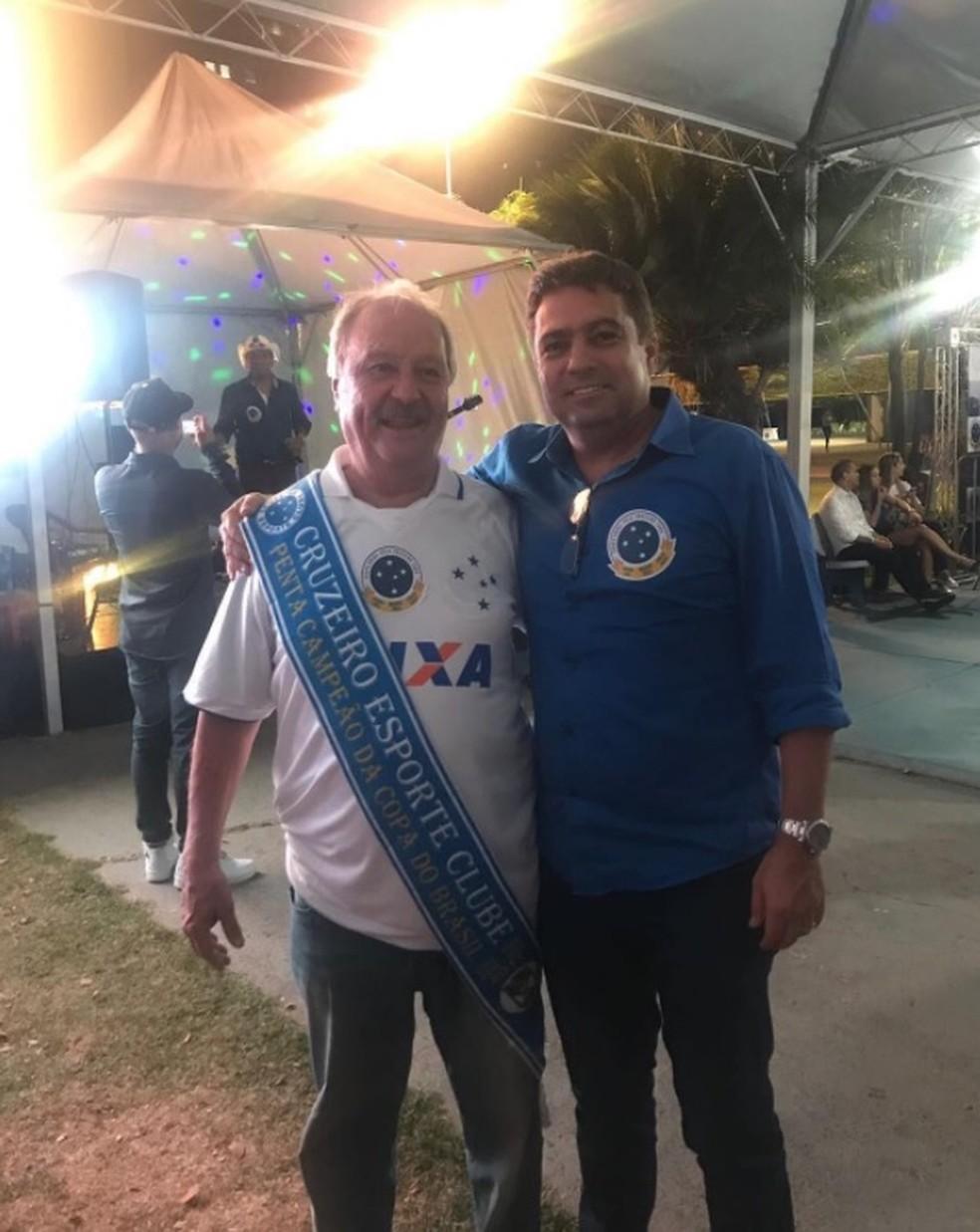 Wagner Pires de Sá; Itair Machado; Cruzeiro (Foto: Reprodução/Instagram)