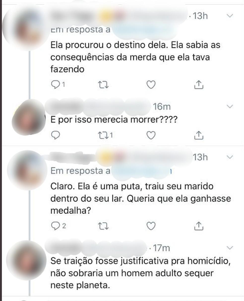Comentários de apologia ao crime podem ser denunciados, afirma a Polícia Civil — Foto: Reprodução/Redes Sociais