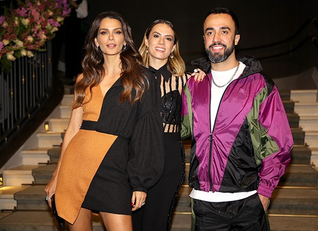Fernanda Motta, Patricia Bonaldi e Yan Acioli (Foto: Manuela Scarpa/Brazil News)