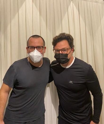 Antonio Prata e Emilio Orciollo Netto (Foto: Arquivo pessoal)
