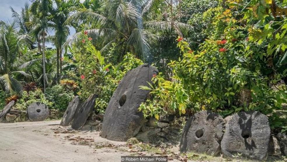 O valor de cada pedra é determinado não só pelo tamanho, mas pela história que carrega  (Foto: Robert Michael Poole)