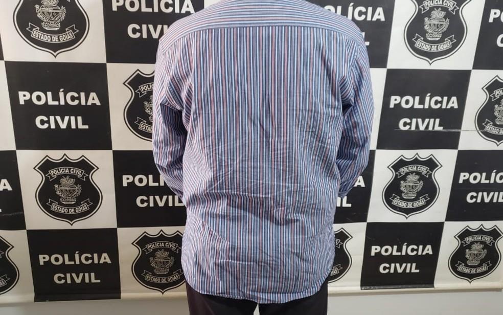 Professor de música foi preso após adolescentes relatarem casos de abuso em Acreúna — Foto: Polícia Civil/Divulgação