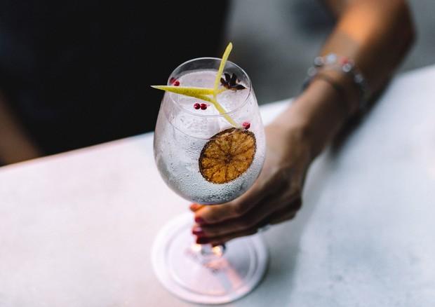 Adicione saquê no gin tônica para um drinque renovado (Foto: Divulgação/Thays Bittar)