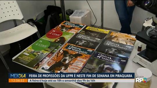 Tem feira de profissões da UFPR em Piraquara