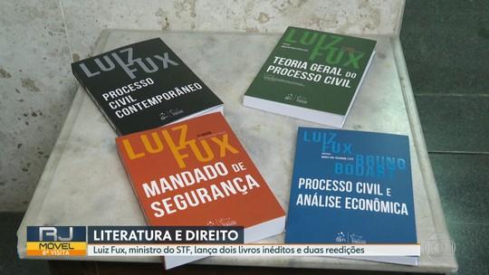 Ministro Luiz Fux lança dois livros no Rio