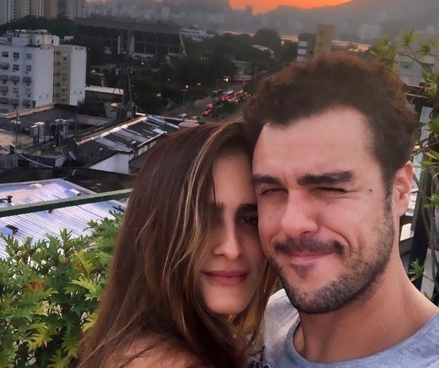 Marcella Fogaça e Joaquim Lopes (Foto: Reprodução/Instagram)