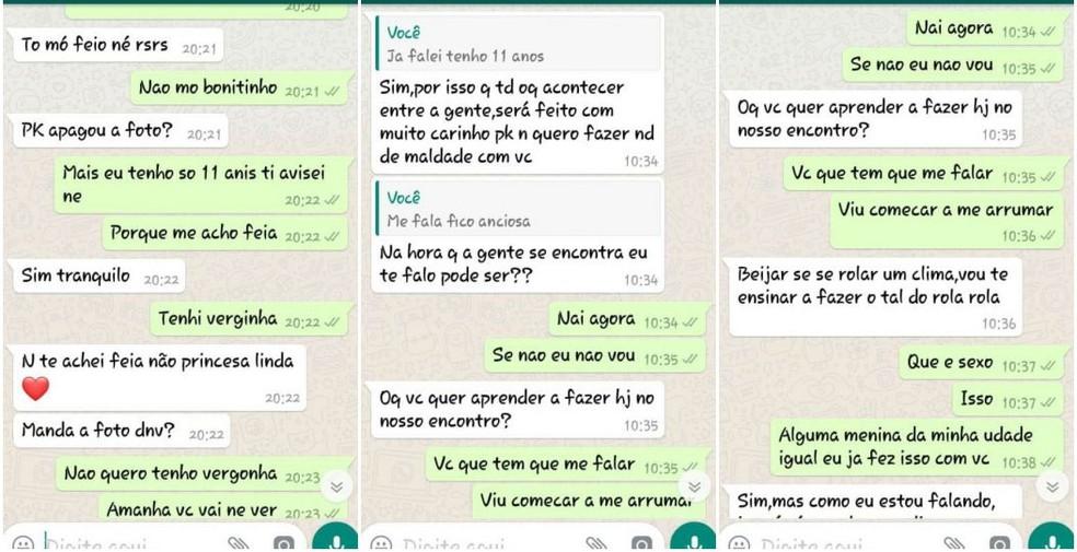 Suspeito preso por tentar aliciar menina de 11 anos em Marília insistiu para marcar encontro (Foto: Reprodução)