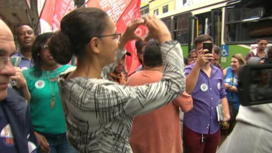 Veja a agenda de campanha da candidata à presidência pela Rede, Marina Silva