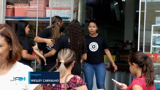 Homem com faca leva pânico ao centro de Rio Verde com ameaça de morte contra a mulher