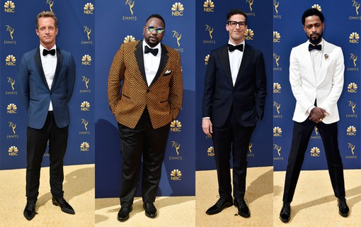 Tom Rob Smith, Brian Tyree Henry, Andy Samberg e Lakeith Stanfield