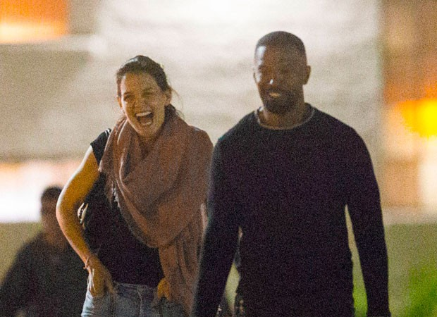 Katie Holmes e Jamie Foxx (Foto: The Grosby Group)