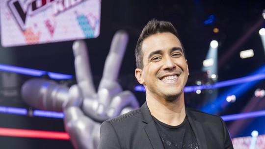 André Marques mostra set da família do 'The Voice Kids': 'Um dos lugares de mais emoção'