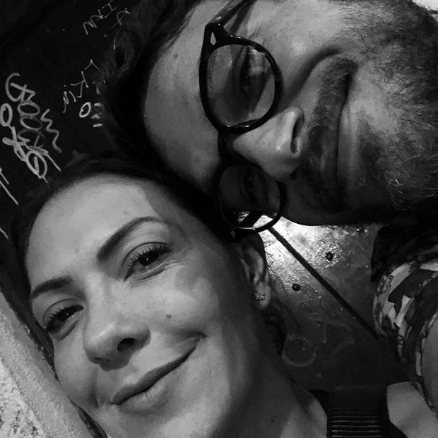 Fabíula Nascimento e Emílio Dantas (Foto: Reprodução/Instagram)
