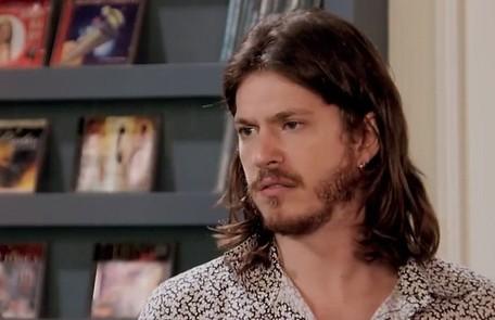Na quinta (27), Quinzinho (Caio Paduan) revelará a Dandara (Dandara Mariana) que ainda a ama e os dois se beijarão TV Globo