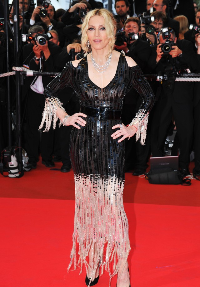 Madonna no Festival de Cinema de Cannes (Foto: Getty Images)